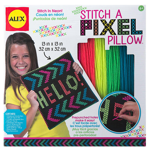Stitch a Pixel Pillow