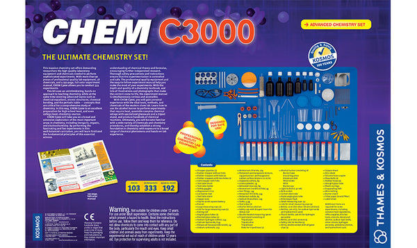 Thames and Kosmos Chem C3000
