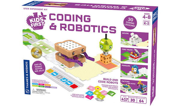 Thames and Kosmos Kids First Coding and Robotics