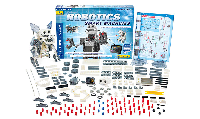 Thames and Kosmos Robotics Smart Machines Rovers and Vehicles