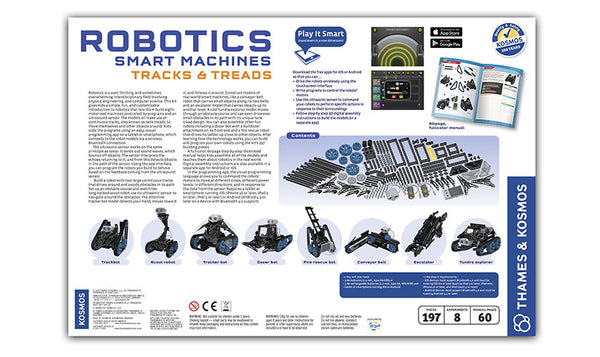 Thames and Kosmos Robotics Smart Machines Tracks and Treads