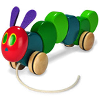 Very Hungry Caterpillar Pull Toy - eBeanstalk
