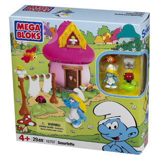 Smurfette House - MEGA Brands - eBeanstalk