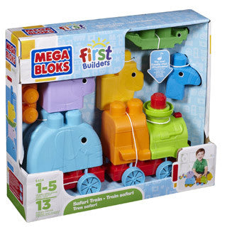 Animal Safari Train - MEGA Brands - eBeanstalk