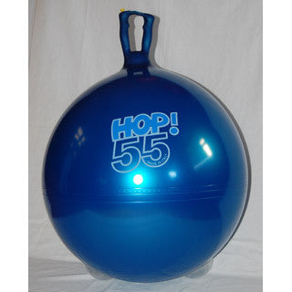 Hop 55 Metallic Blue - Gymnic - eBeanstalk