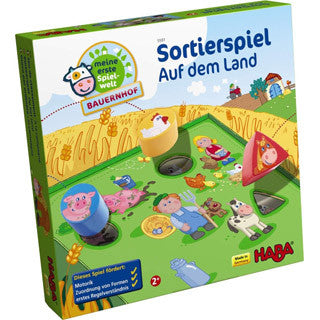 Sorting Game On The Farm - Haba - eBeanstalk