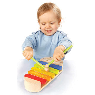 Early Melodies Rainbow Xylophone - Hape - eBeanstalk