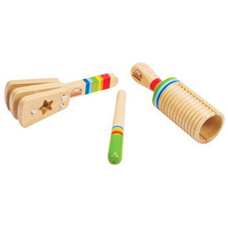 Early Melodies Rhythm Set - Hape - eBeanstalk