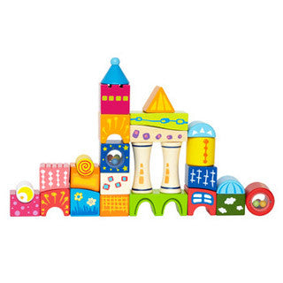 Fantasia Castle Blocks - Hape - eBeanstalk
