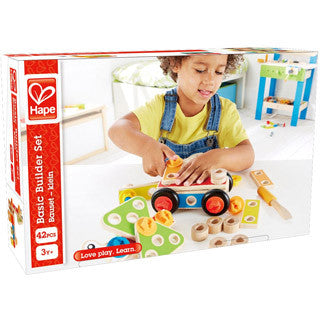 Basic Builder Set - Hape - eBeanstalk