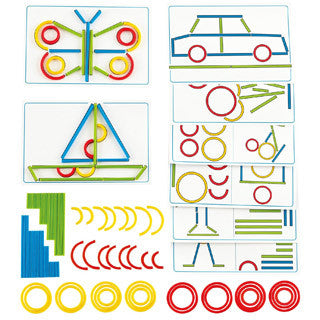 Rings and Sticks by Hape - Hape - eBeanstalk