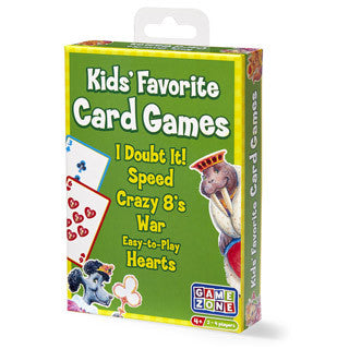 Kids Favorite Card Games - International Playthings - eBeanstalk
