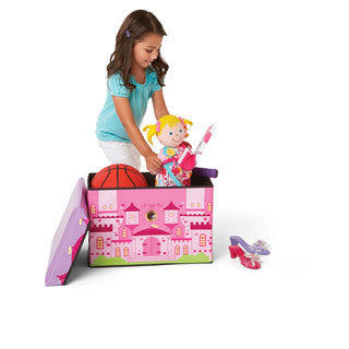 Princess Castle Toy Box - International Playthings - eBeanstalk
