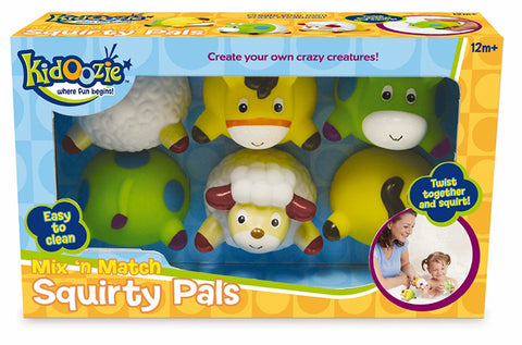 Mix N Match Squirty Pals Kidoozie