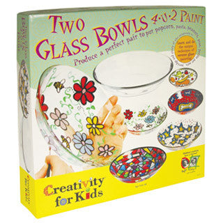 Glass Bowls You Paint - Creativity for Kids - eBeanstalk