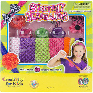 Stretchy Headbands - Creativity for Kids - eBeanstalk