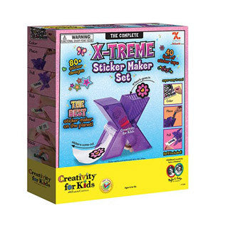 Xtreme sticker maker set - Creativity for Kids - eBeanstalk