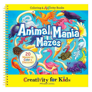 Animal Mania Mazes - Creativity for Kids - eBeanstalk