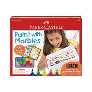 Do Art Paint with Marbles - Faber Castell - eBeanstalk