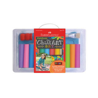 Do Art Outdoor Chalk Art Set - Faber Castell - eBeanstalk