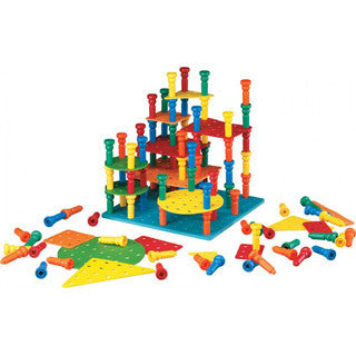 Stacker Pegs Building Set - Lauri - eBeanstalk
