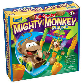 Tall Stacker Mighty Monkey Playset - Lauri - eBeanstalk