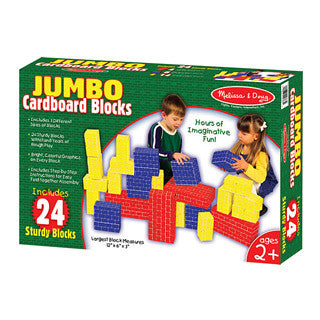 Jumbo Cardboard Blocks - Melissa and Doug - eBeanstalk