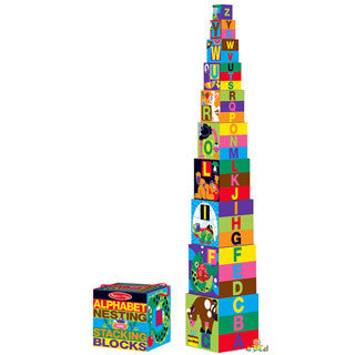 ABC Nesting and Stacking Blocks - eBeanstalk