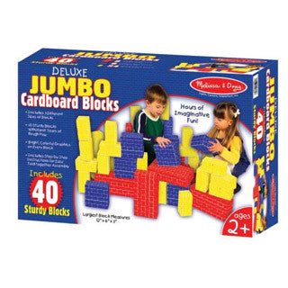 Deluxe Jumbo Cardboard Blocks - Melissa and Doug - eBeanstalk
