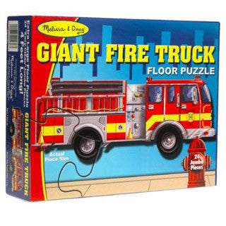 Giant Truck Floor Puzzle - Melissa and Doug - eBeanstalk