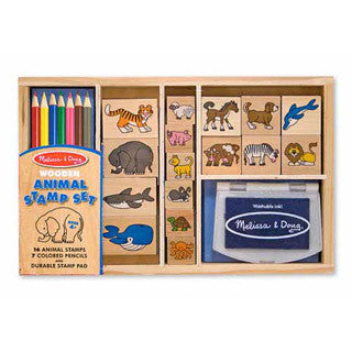 Animal Stamp Set - Melissa and Doug - eBeanstalk
