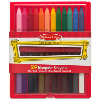 24 Triangular Crayons - eBeanstalk