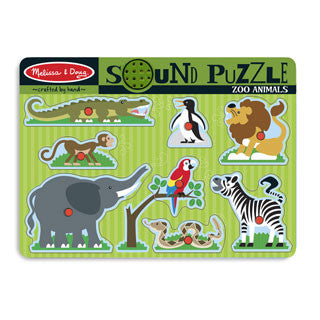 Zoo Animals Sound Puzzle - Melissa and Doug - eBeanstalk
