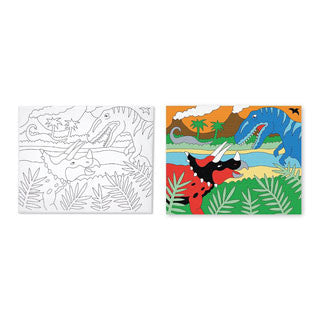 Canvas Creations - DINOSAURS - Melissa and Doug - eBeanstalk