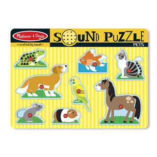 Pets Sound Puzzle - Melissa and Doug - eBeanstalk