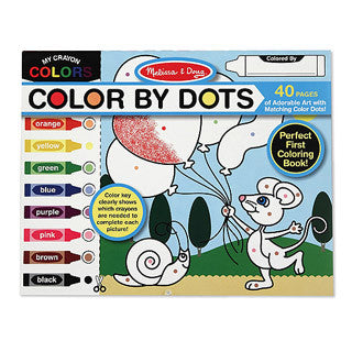Color By Dots - Melissa and Doug - eBeanstalk