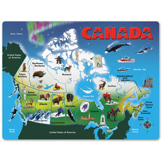 Canada Map Puzzle - Melissa and Doug - eBeanstalk