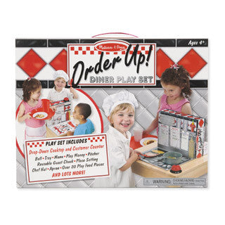 Order Up Diner Play Set - Melissa and Doug - eBeanstalk