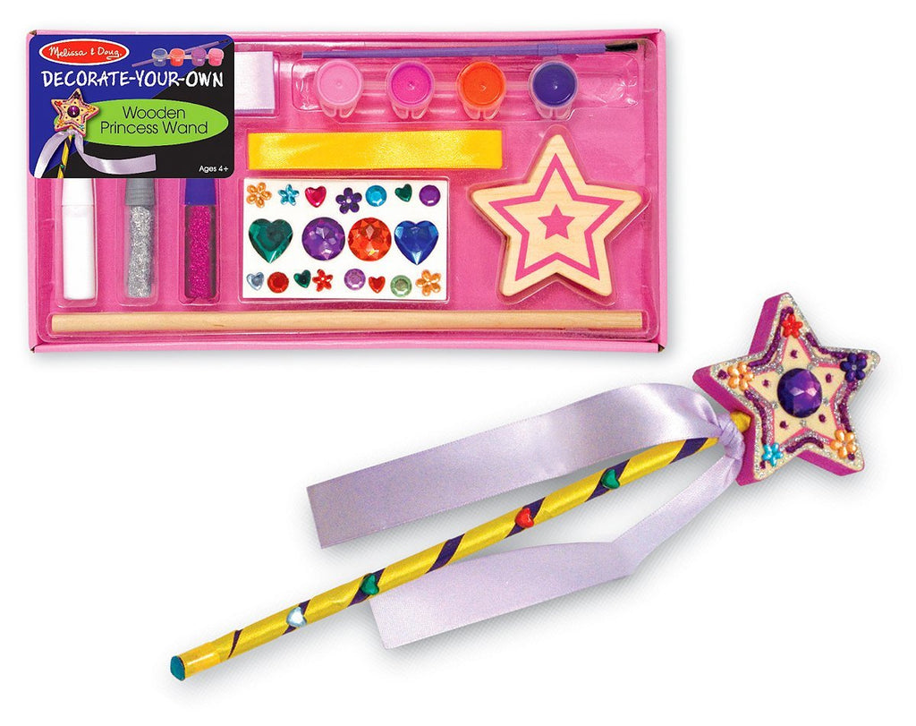 Princess Wand Decorate Your Own