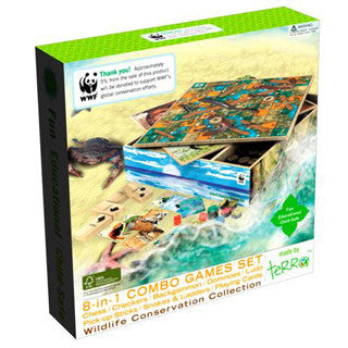 8-in-1 Combo Games Set - eBeanstalk