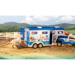 Animal Rescue Truck & Trailer - Breyer - eBeanstalk