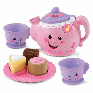 Laugh & Learn Say Please Tea Set - Fisher Price - eBeanstalk
