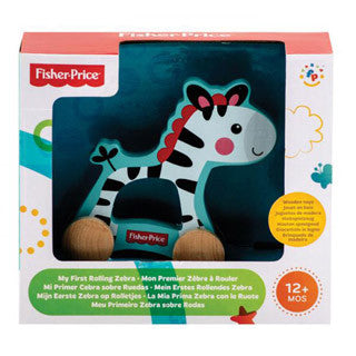 Fisher Price My First Rolling Zebra - Fisher Price - eBeanstalk