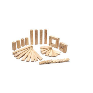 Tegu Explorer Set NATURAL - Tegu Blocks - eBeanstalk
