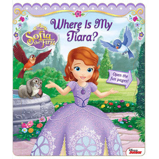 Disney Sofia the First Where Is My Tiara - Scholastic - eBeanstalk