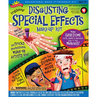 Disgusting Special Effects Make Up Kit - Scientific Explorer - eBeanstalk