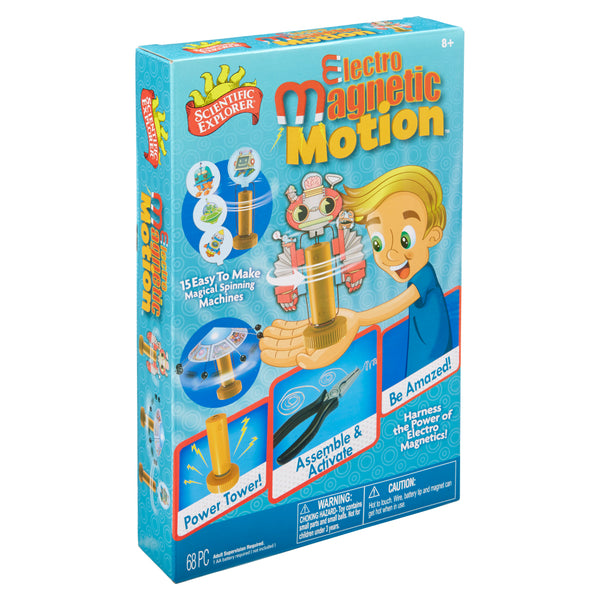 Scientific Explorer Electro Magnetic Motion