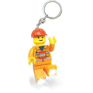 Lego Key Chain Light - Construction Worker - Lego - eBeanstalk