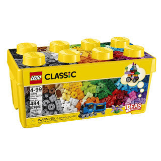 LEGO Classic Medium Creative Brick Box - Lego - eBeanstalk