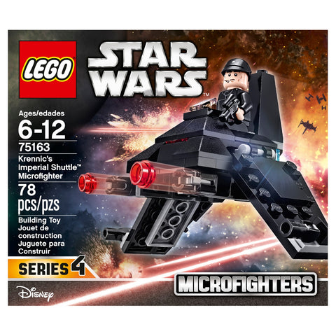 Lego Star Wars Krennics Imperial Shuttle Microfighter